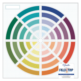 Field Trip Die-Cut Cardstock Color Wheel
