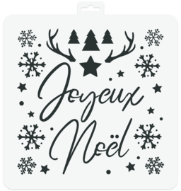 Stencil Joyeux Noël