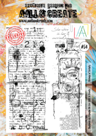 #054- A4 Stamps
