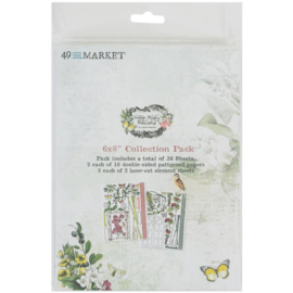 """Vintage Artistry Naturalist Collection Pack 6""""X8"""""""