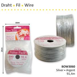 Wire Silver 91.4m