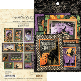 Midnight Tales Ephemera & Journaling Cards