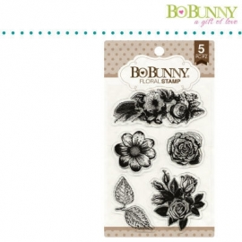 Clear Stamp Floral