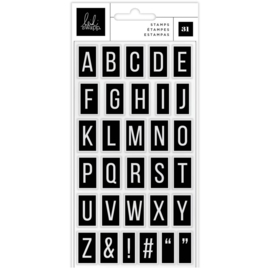 Care Free Clear Stamps Alphabet