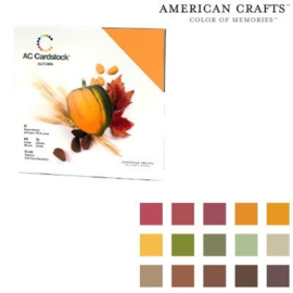 "Variety Cardstock Pack Autumn 12""X12"""