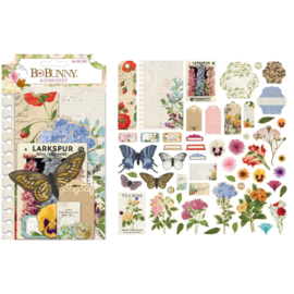Botanical Journal Noteworthy Die-Cuts
