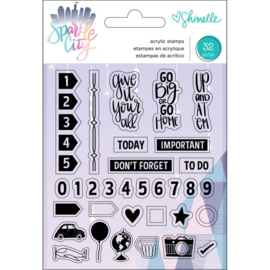 Sparkle City Acrylic Stamps