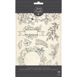 Traceable Stamps Florals