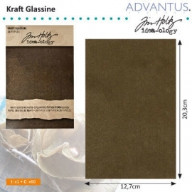Kraft glassine stash