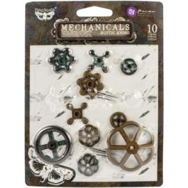 Mechanicals Metal Rusty Knobs