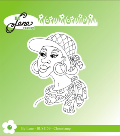 Clear Stamps Lady-2