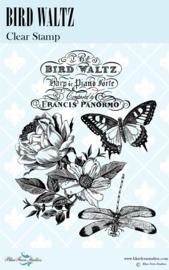 Bird Waltz clear stamp