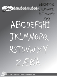 Cutting & Embossing Dies Alphabet Uppercase