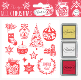 Foam Stamps Classic Christmas