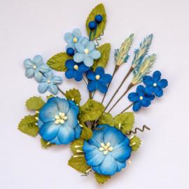 Wildflowers Cobalt