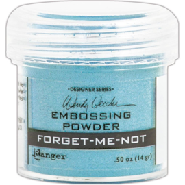 Embossing Powder Forget-Me-Not