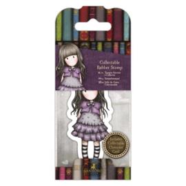 Gorjuss Mini Rubber Stamp - Little Violet