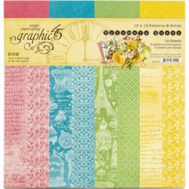 "Ephemera Queen Paper Pad 12""X12"""