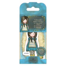 Gorjuss Mini Rubber Stamps - The Little Friend