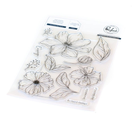 Clear Stamp Set It's A New Day Floral