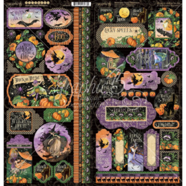 Midnight Tales Cardstock Stickers