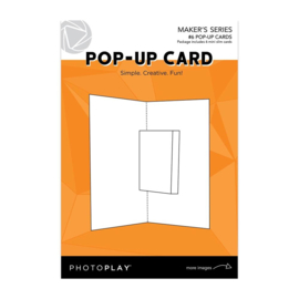 Maker Series Pop-Up Card (6) Mini Slim Cards