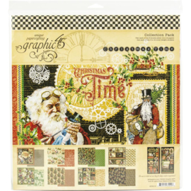 """Christmas Time Collection Pack 12""""X12"""""""