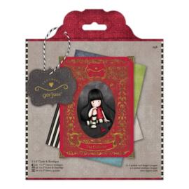 Gorjuss Cards & Envelopes 6x6 Inch