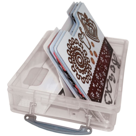 Handy Cling & Clear Stamp Storage System