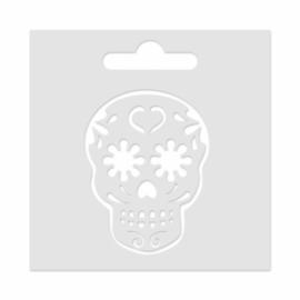 Mini Stencil Sugar Skull