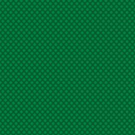Patterned single-sided d.green l.dot
