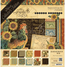 """French Country Deluxe Collector's Edition Pack 12""""X12"""""""