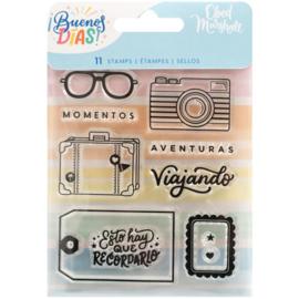 Buenos Dias Acrylic Stamps