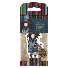 Gorjuss Mini Rubber Stamp - The Hatter