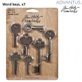 Word keys