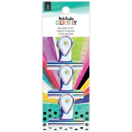 Color Study Bulldog Clips