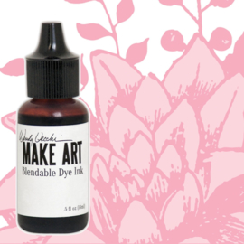 Make Art Dye Ink Pad Reinkers Pink Peony