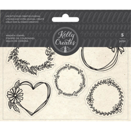 Traceable Stamps Wreaths