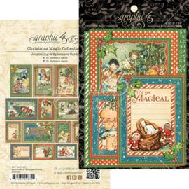 Christmas Magic Ephemera Cards