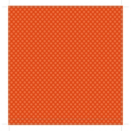Patterned single-sided orange l. dot