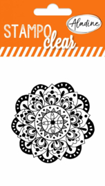 Clear Stamp Mandala 2