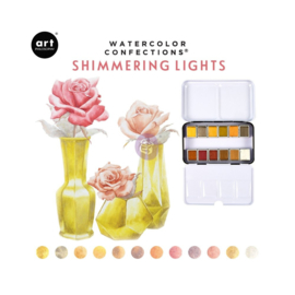 Watercolor Confections Shimmering Lights