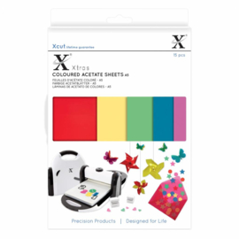 Xtra A5 Coloured Acetate Sheets