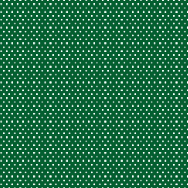 Patterned single-sided d.green sm.dot