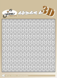 3D Embossing Folder Knitting 2 6x6 Inch