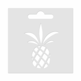 Mini Stencil Pineapple