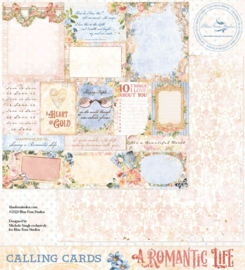 A Romantic Life Calling Cards