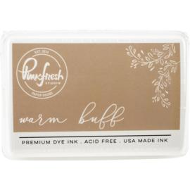 Premium Dye Ink Pad Warm Buff