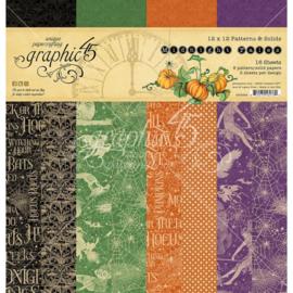 """Midnight Tales Paper Pad 12""""X12"""""""