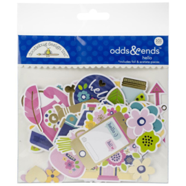 Hello Odds & Ends Die-Cuts